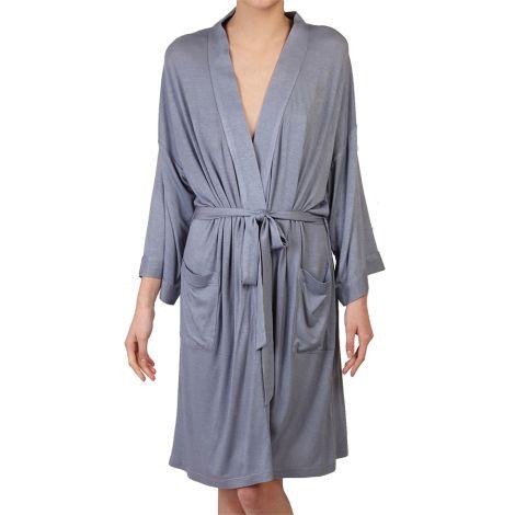 COCOON HOMEWEAR Kimono Daphne Blau