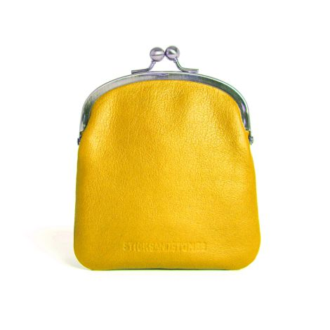 Sticks and Stones Ledertasche Delphi Yellow Washed