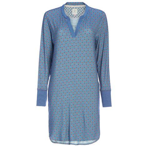 PIP Studio Nachthemd Langarm Dieteke Buttons Up Dark Blue