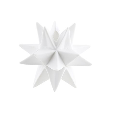 House Doctor Kerzenständer STAR Weiß 11,6cm