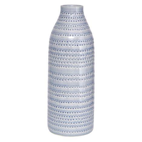 House Doctor Vase Circles Grau