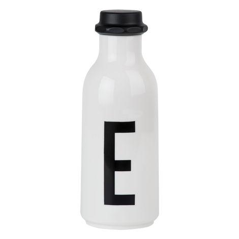 Design Letters Wasserflasche E •