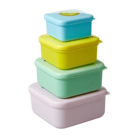 Rice Aufbewahrungsdosen Fruit 4er-Set