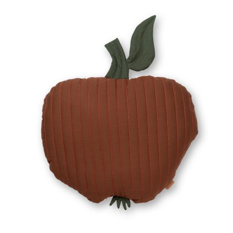 ferm LIVING Kissen Apple Quilted Cinnamon