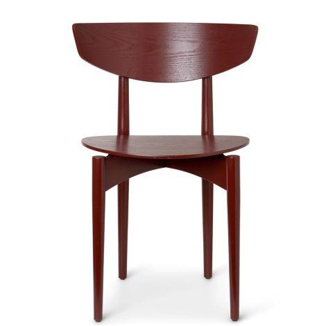 ferm LIVING Stuhl Herman Dining Chair Wood Red Brown