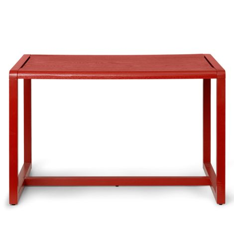 ferm LIVING Kindertisch Little Architect Poppy Red