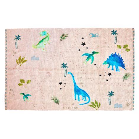 Rice Teppich Chenile Dinosaurs 180 x 120 cm