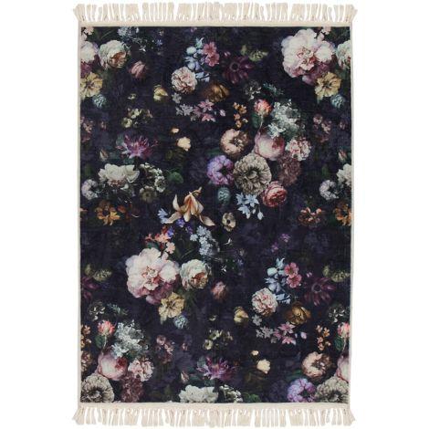 Essenza Teppich Fleur Nightblue 120 x 180 cm
