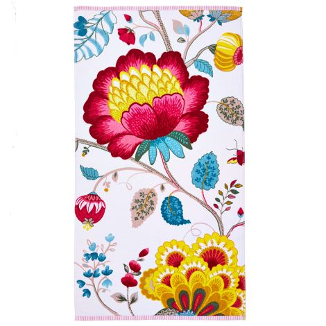 PIP Studio Handtuch Floral Fantasy Star White
