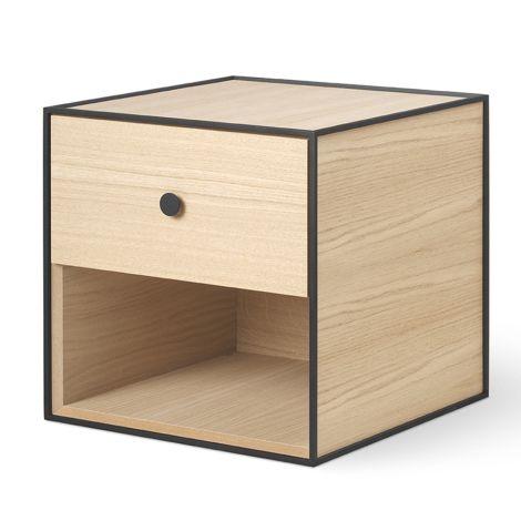 by Lassen Box inkl. 1 Schublade Frame 35 Oak