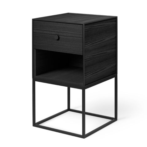 by Lassen Sideboard Frame 35 Black Stained Ash inkl. 1 Schublade