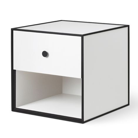 by Lassen Box inkl. 1 Schublade Frame 35 White