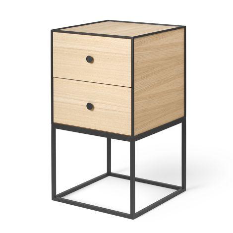 by Lassen Sideboard Frame 35 Oak inkl. 2 Schubladen