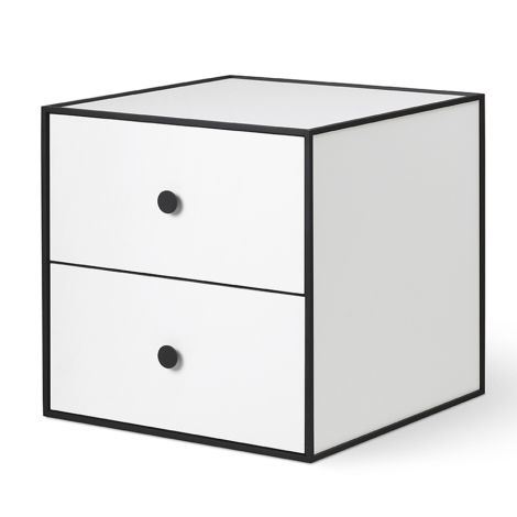 by Lassen Box inkl. 2 Schubladen Frame 35 White