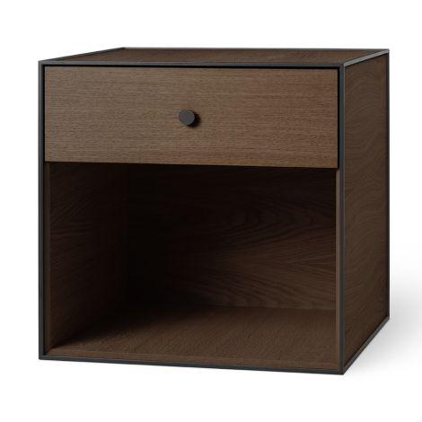 by Lassen Box inkl. 1 Schublade Frame 49 Smoked Oak