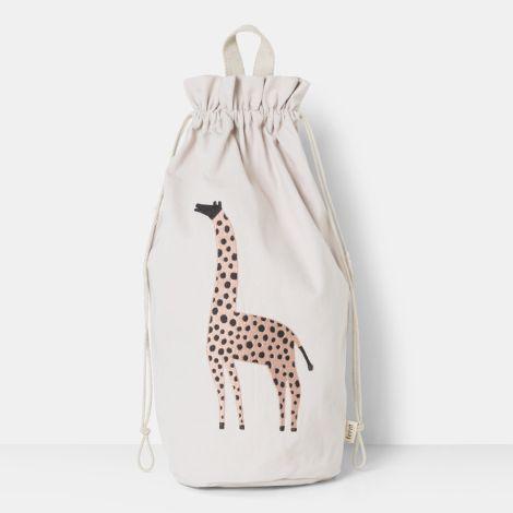 ferm LIVING Aufbewahrungstasche Safari Giraffe