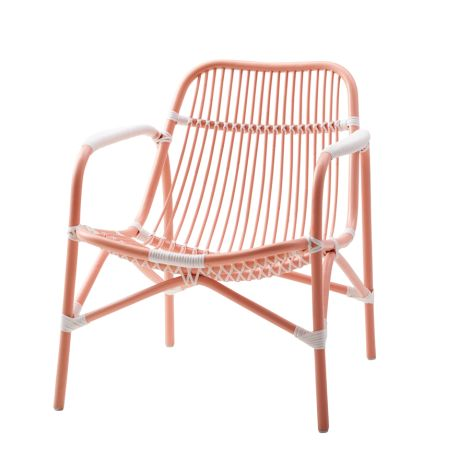 Rice Rattan-Sessel Soft Coral