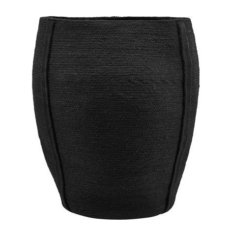 House Doctor Korb Drum Black 55 cm