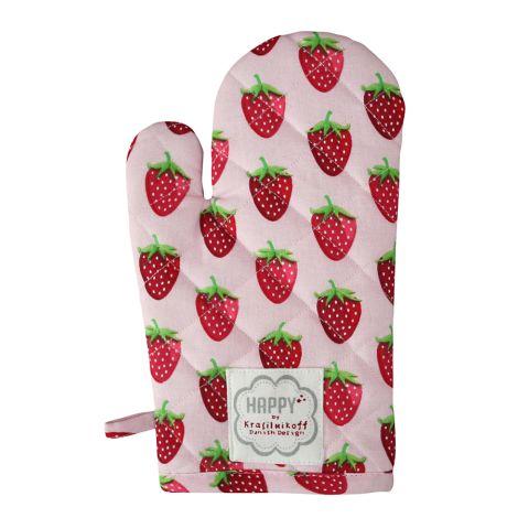 Krasilnikoff Ofenhandschuh Strawberry Pink