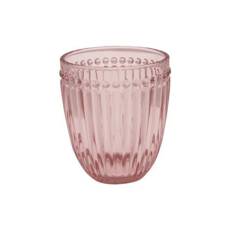 GreenGate Wasserglas Alice Pale Pink