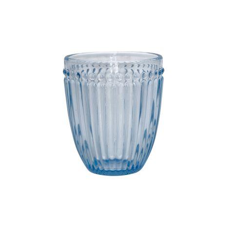 GreenGate Wasserglas Alice Pale Blue