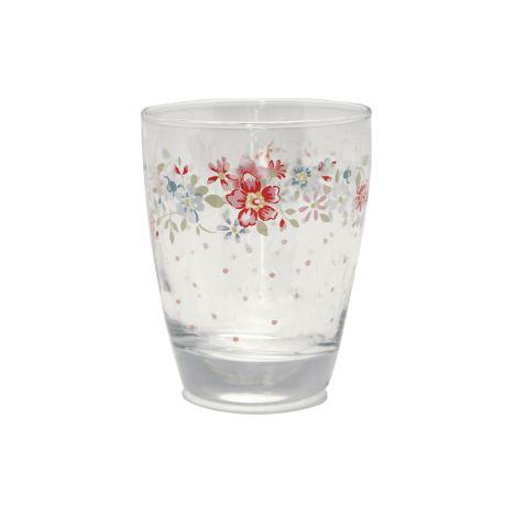 GreenGate Wasserglas Clementine White