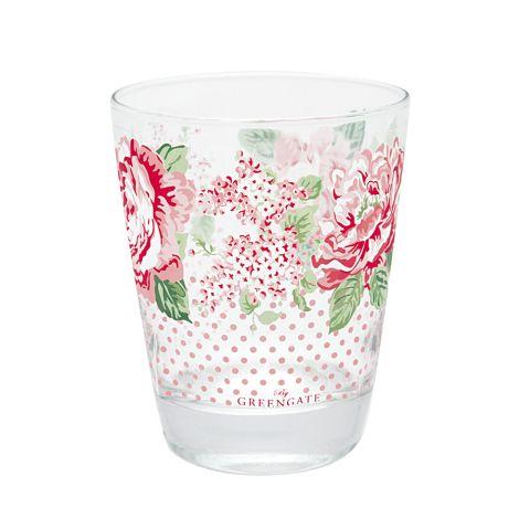 GreenGate Wasserglas Emmaline White