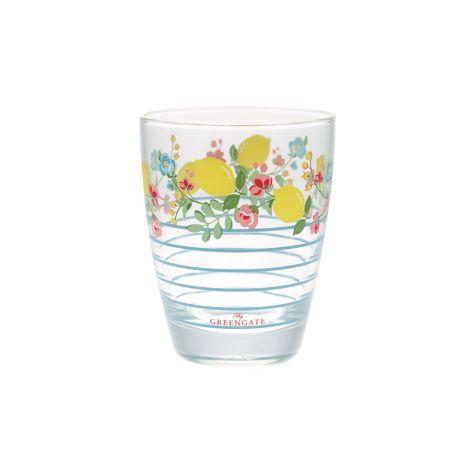 GreenGate Wasserglas Limona Pale Blue