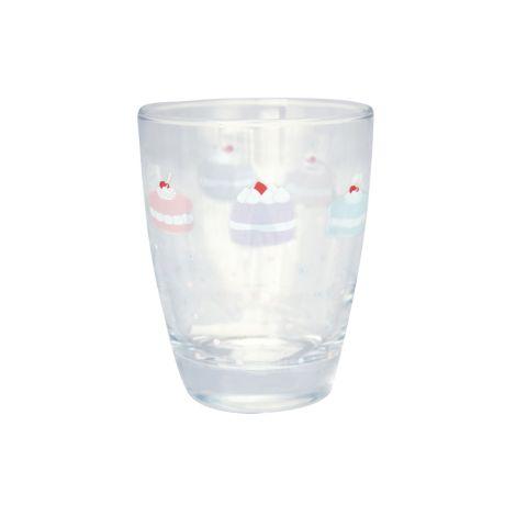 GreenGate Wasserglas Madelyn White