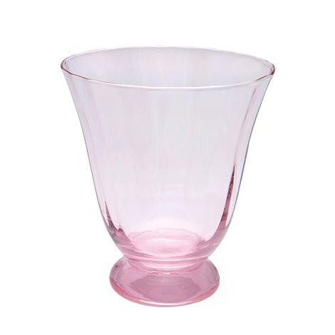 GreenGate Wasserglas Rund Pink