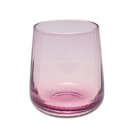 GreenGate Wasserglas Plum Small