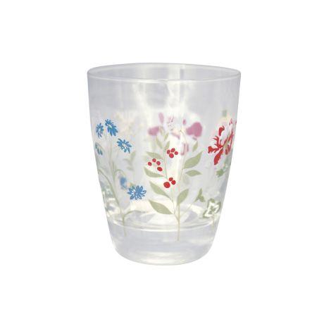 GreenGate Wasserglas Thilde White