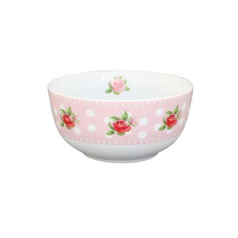 Krasilnikoff Schüssel Happy Bowl Dots n' Roses