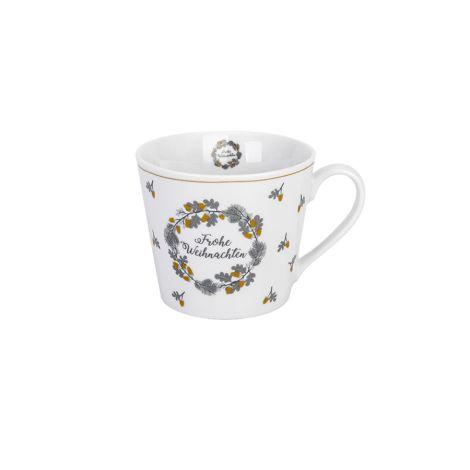 Krasilnikoff Tasse Happy Cup Frohe Weihnachten