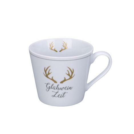 Krasilnikoff Tasse Happy Cup Glühwein Zeit