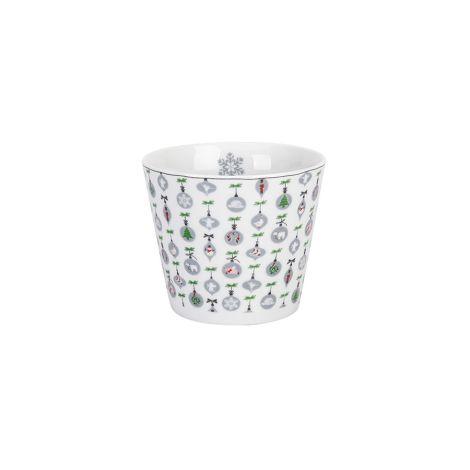 Krasilnikoff Becher Happy Cup Tumbler X-mas Ornaments