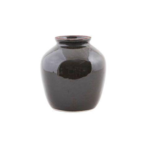 House Doctor Vase Shine Black S •
