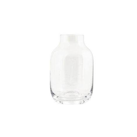 House Doctor Vase Shaped Transparent 9 cm