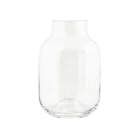 House Doctor Vase Shaped Transparent 17 cm