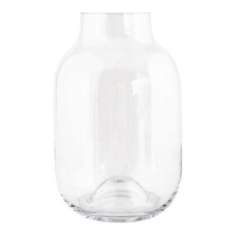 House Doctor Vase Shaped Transparent 21cm