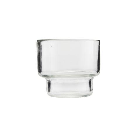 House Doctor Teelicht Mute Transparent •