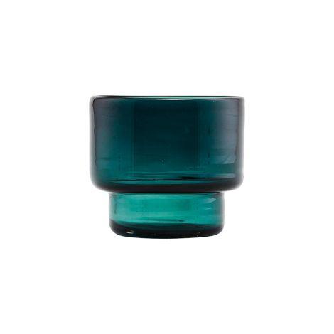 House Doctor Teelicht Mute Blau/Grün