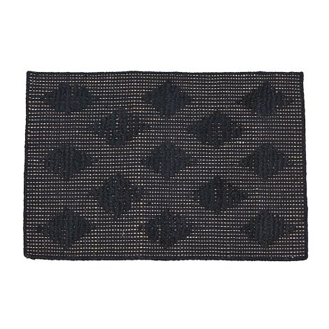 house doctor teppich cubie schwarz 70x50cm online kaufen emil paula. Black Bedroom Furniture Sets. Home Design Ideas