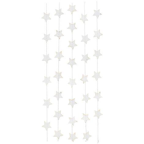 House Doctor Girlande Star Weiß 2,5m