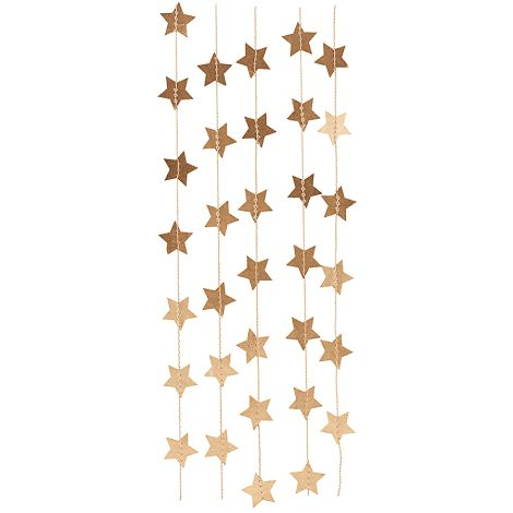 House Doctor Girlande Star Gold 2,5 m •