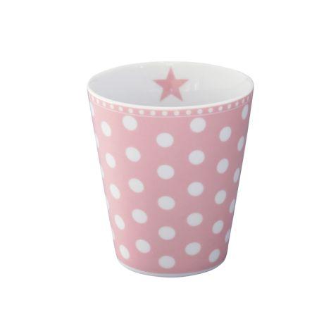 Krasilnikoff Happy Mug Becher New Dots Pink