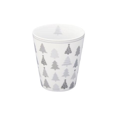 Krasilnikoff Happy Mug Becher Christmas Trees