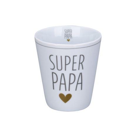 Krasilnikoff Becher Happy Mug Super Papa