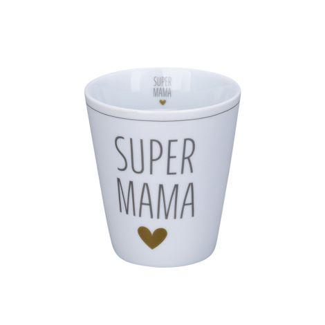 Krasilnikoff Becher Happy Mug Super Mama