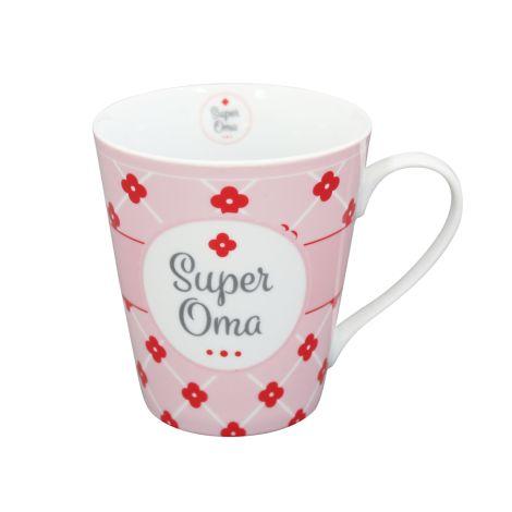Krasilnikoff Happy Mug Becher Super Oma